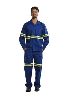 Calça Antiácido-Rep. Agentes Químicos Azul Royal