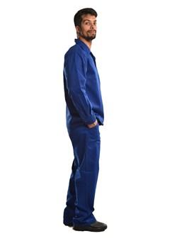 Calça Elástico Total e Cordão Azul Royal