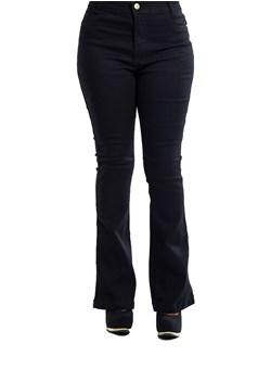 Calça Jeans Feminina Flare Preto