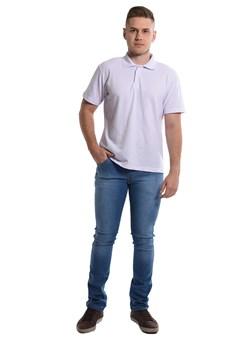 Calça Jeans Masculina com Elastano Azul Plácido