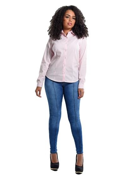 Calça Jeans Skinny Feminina Azul Plácido