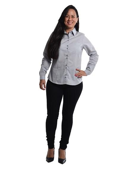 Calça Jeans Skinny Feminina Branco