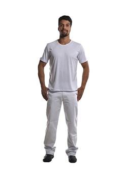 Calça Jeans Unissex na Cor Branca
