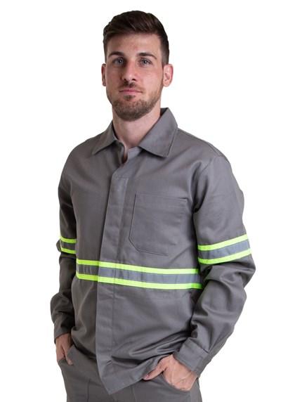 Camisa NR10 Cinza