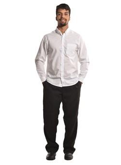 Camisa Social De Botões Manga Longa Branca
