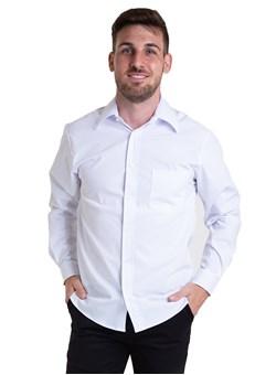 Camisa Tricoline Manga Longa Branco