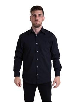 Camisa Tricoline Manga Longa Preto