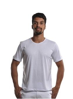Camiseta Gola Redonda Branco