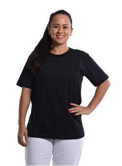 Camiseta Gola Redonda Preto