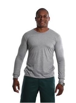 Camiseta Malha Fria Manga longa Cinza