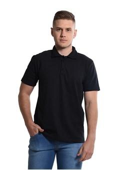 Camiseta Polo  Preta