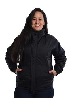 Jaqueta de Nylon Feminino Preto