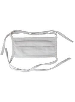 Máscara de Tecido Branca com Elástico